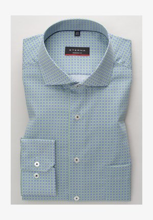 MODERN FIT - Skjorte - blau/grün