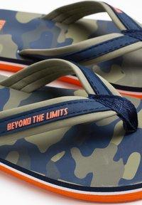 WE Fashion - T-bar sandals - army green - 2