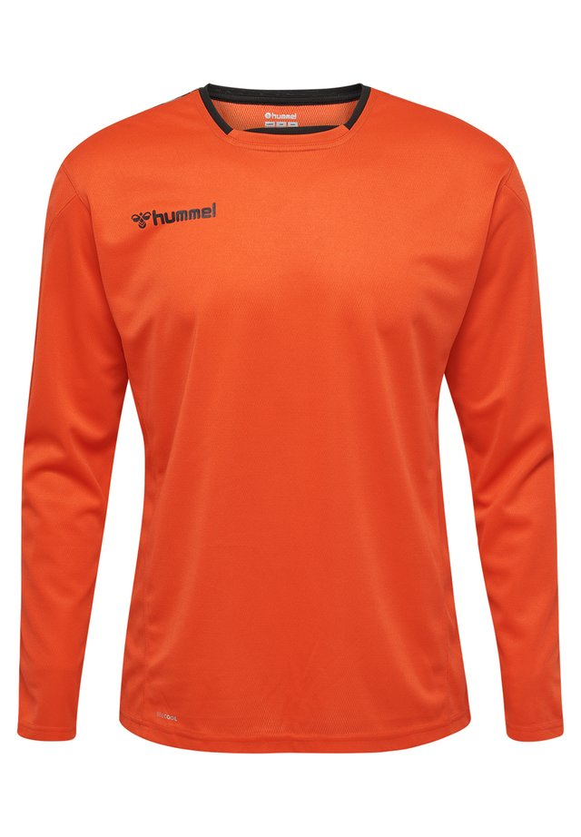 HMLAUTHENTIC - Long sleeved top - fire red