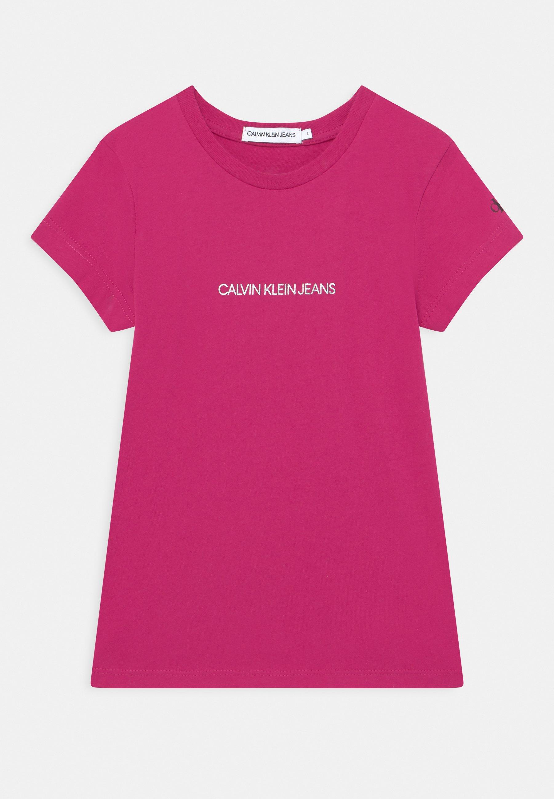 Kids METALLIC CHEST LOGO SLIM - Print T-shirt