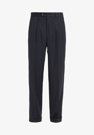 NATHAN CARROT PANTS - Trousers - navy