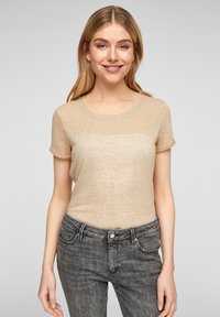 QS by s.Oliver - Blouse - beige - 0