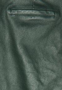 Ibana - Kožené kalhoty - dark green - 2