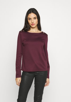 VITINNY SHOULDER BUTTONS - Long sleeved top - winetasting