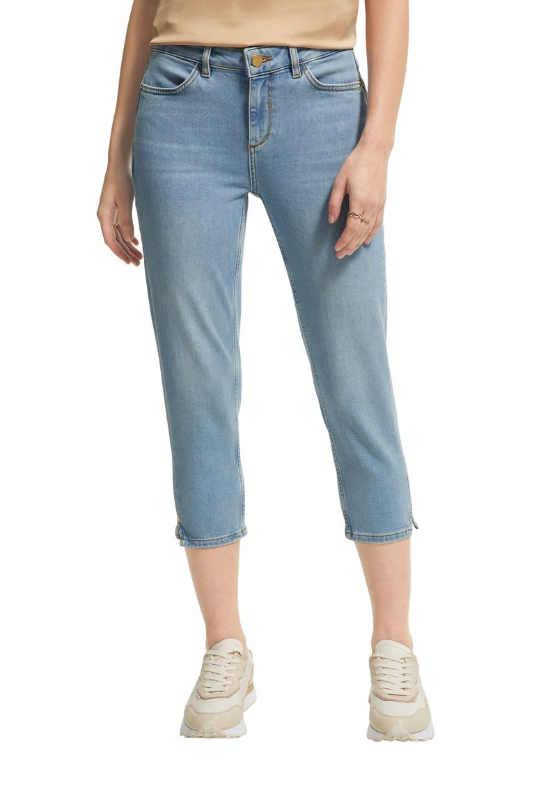 comma - Straight leg jeans - blue