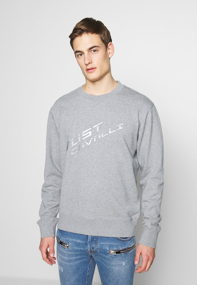 LOGO - Sweatshirt - grey melange