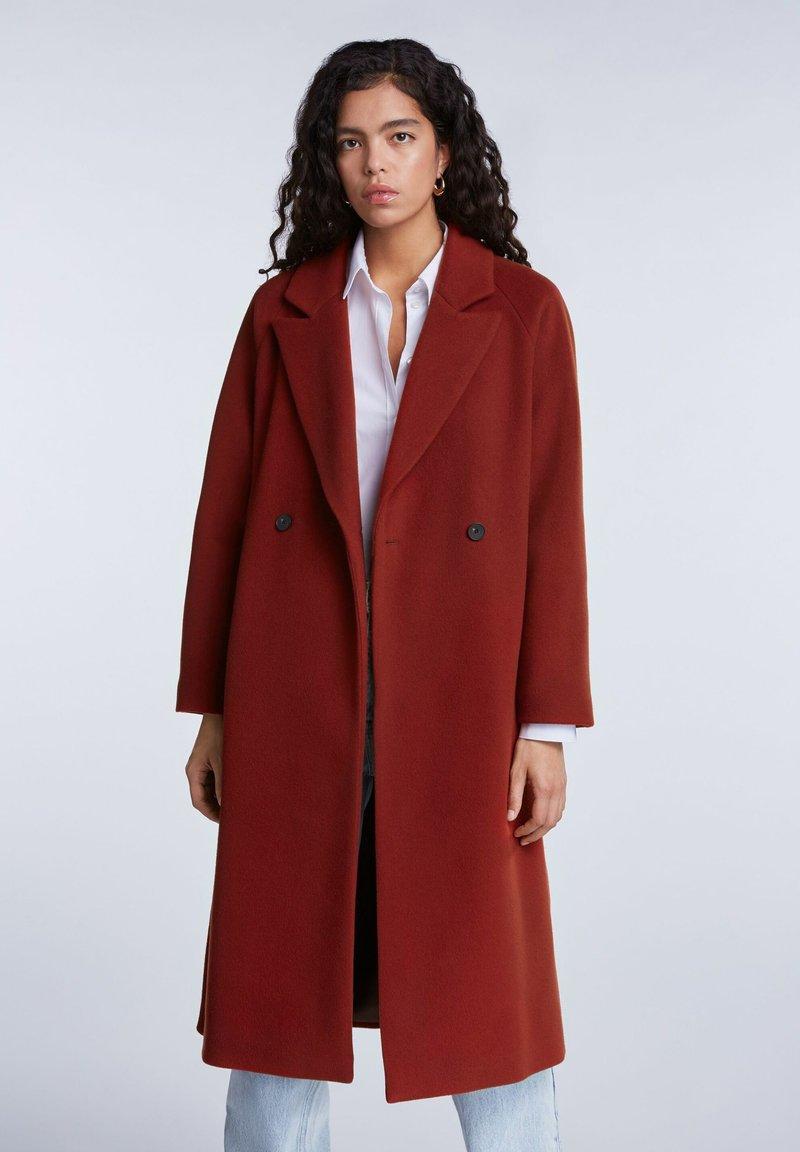 SET - Classic coat - maroon