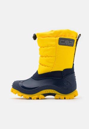 KIDS PAHKU UNISEX - Snowboots  - yellow