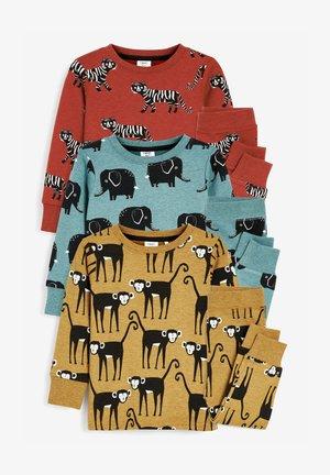 3 PACK - Pyjama set - mustard yellow