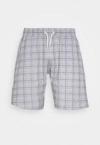 JENSONCHECK - Shorts - black/white