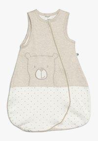 Jacky Baby - SLEEPING BAG HELLO WORLD - Baby's sleeping bag - beige melange - 0