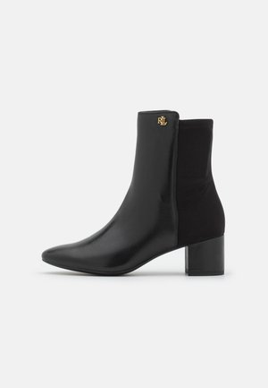 WILIMINA BOOTIE - Kotníkové boty - black
