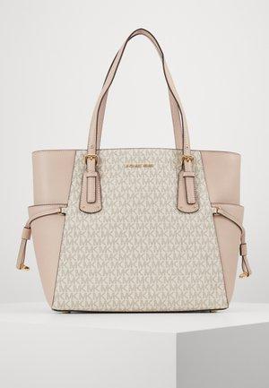 VOYAGER SIGNATURE TOTE - Handbag - soft pink