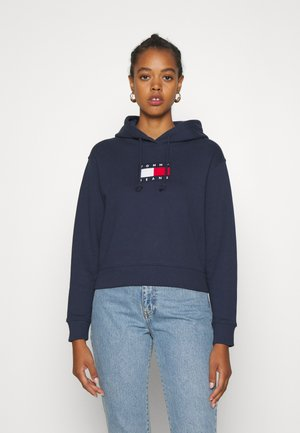 FLAG HOODIE - Bluza z kapturem - twilight navy
