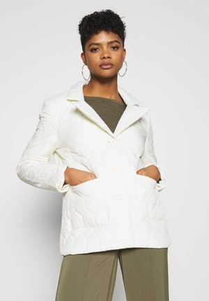 QUILTED JACKET - Giacca leggera - off white