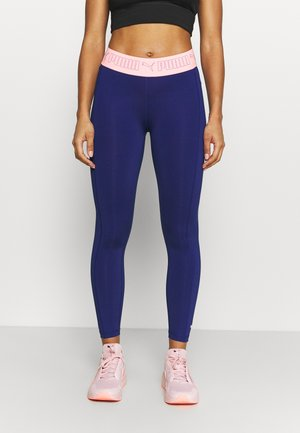 TRAIN ELASTIC 7/8 - Tights - elektro blue