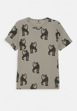 PANTHER TEE UNISEX - Print T-shirt - grey