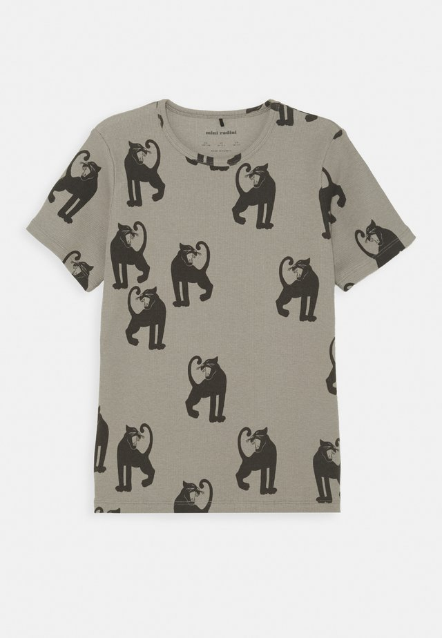 PANTHER TEE UNISEX - T-shirt print - grey
