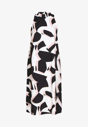 COLOUR BLOCK PLEAT DRESS - Sukienka letnia - blush