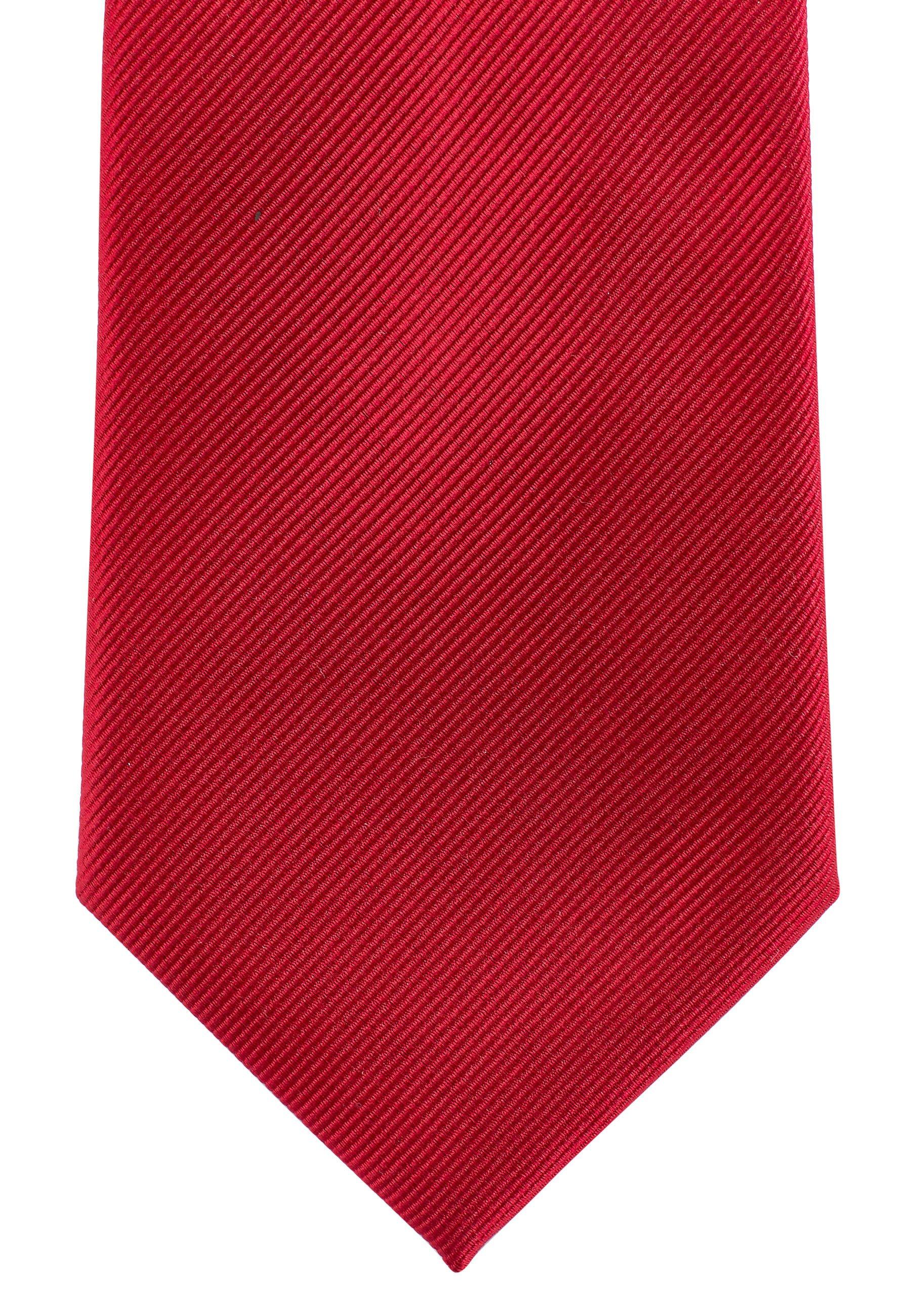 Next BURGUNDY WIDE - Tie - red