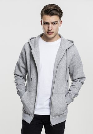BASIC - Zip-up hoodie - grey