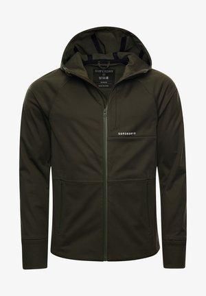 Soft shell jacket - army khaki