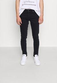 Versace Jeans Couture - Skinny džíny - blue black - 0