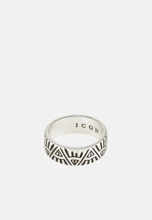 DECO NUANCE ENGRAVED BAND - Bague - silver-coloured