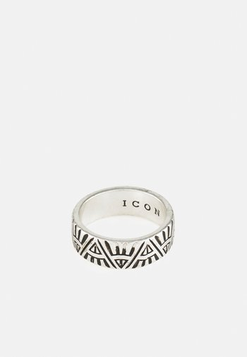 DECO NUANCE ENGRAVED BAND - Ringar - silver-coloured