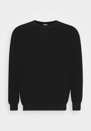 JJELIAM CREW NECK - Pullover - black