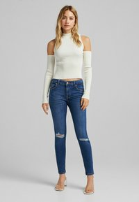 Bershka - PUSH UP - Jeans Skinny Fit - blue - 1
