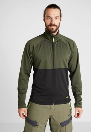 CLIME - Fleece jacket - forest night