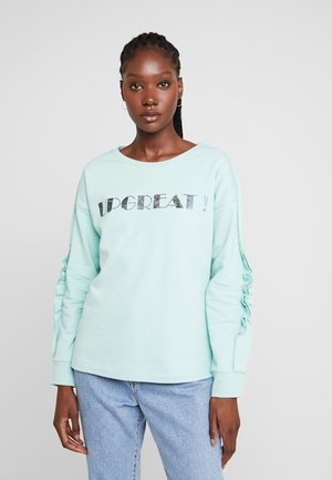 Sweatshirt - pistachio green