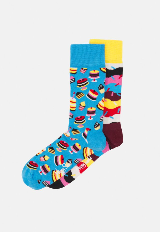BIRTHDAY CAKE UND SPRINKLE SOCK2 PACK UNISEX - Calze - multi