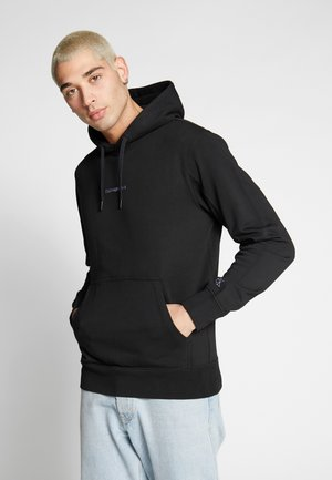 INSTIT CHEST LOGO HOODIE - Sweat à capuche - black