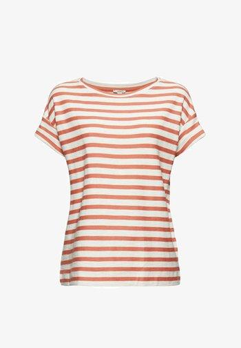 COO STRIPE - T-shirt imprimé - blush