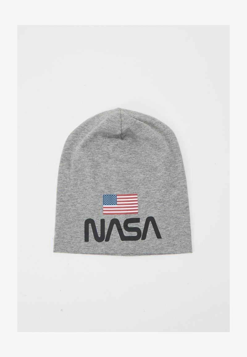 Name it - NASA - Beanie - grey melange