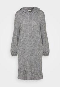 FQLIVANA - Jumper dress - med. grey melange