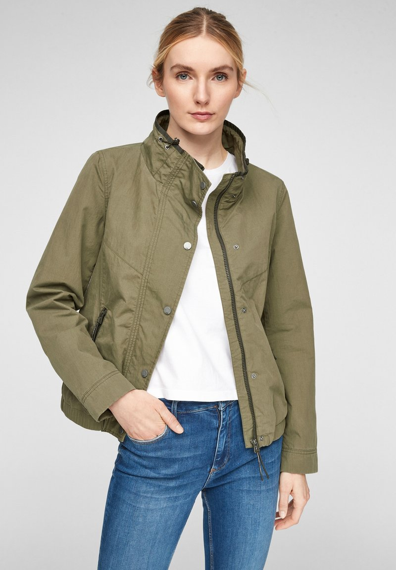 Q/S designed by - Light jacket - khaki