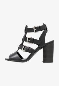 New Look - PENG - Sandály na vysokém podpatku - black - 1