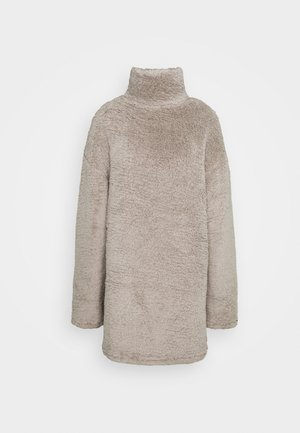TURTLENECK DRESS - Sukienka letnia - beige
