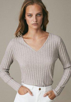 Pullover - ochre