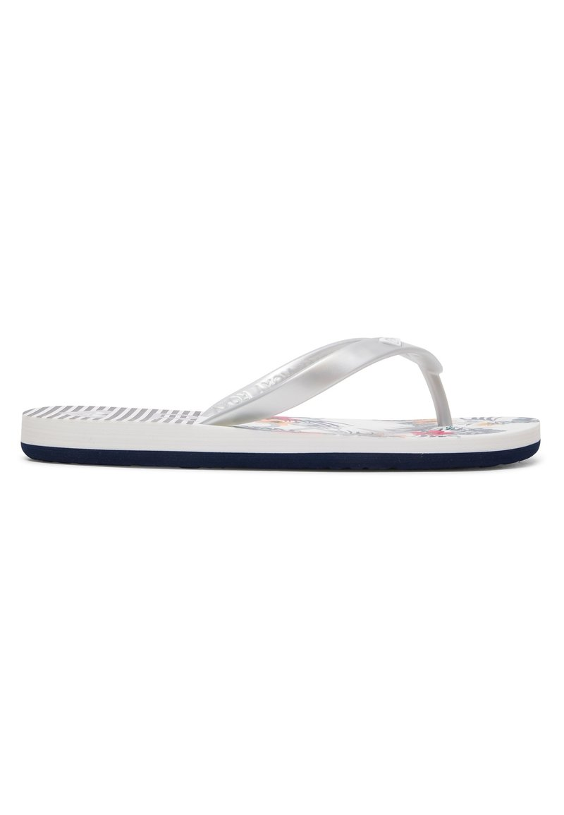 Roxy - TAHITI - Pool shoes - white/silver