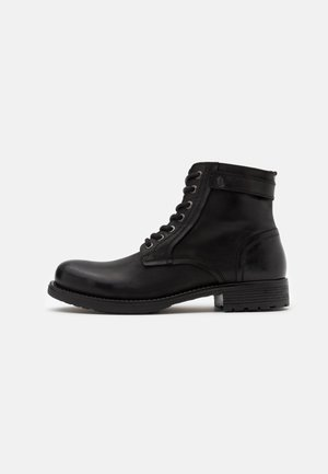 JFWANGUS - Lace-up ankle boots - anthracite