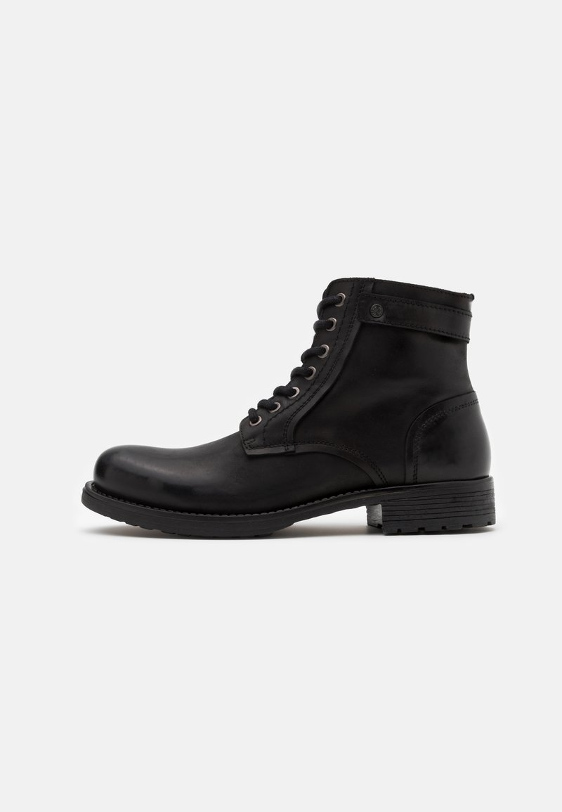 Jack & Jones - JFWANGUS - Lace-up ankle boots - anthracite