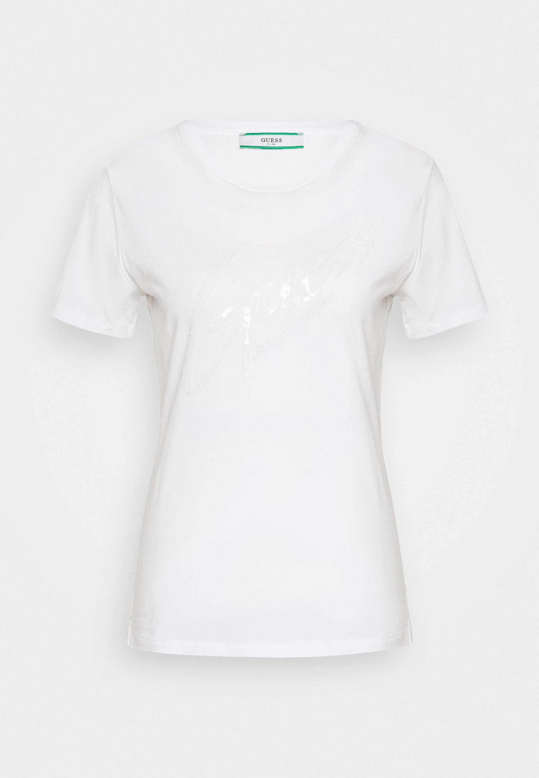 Guess Genny Tee - T-shirts Med Print True White/hvit