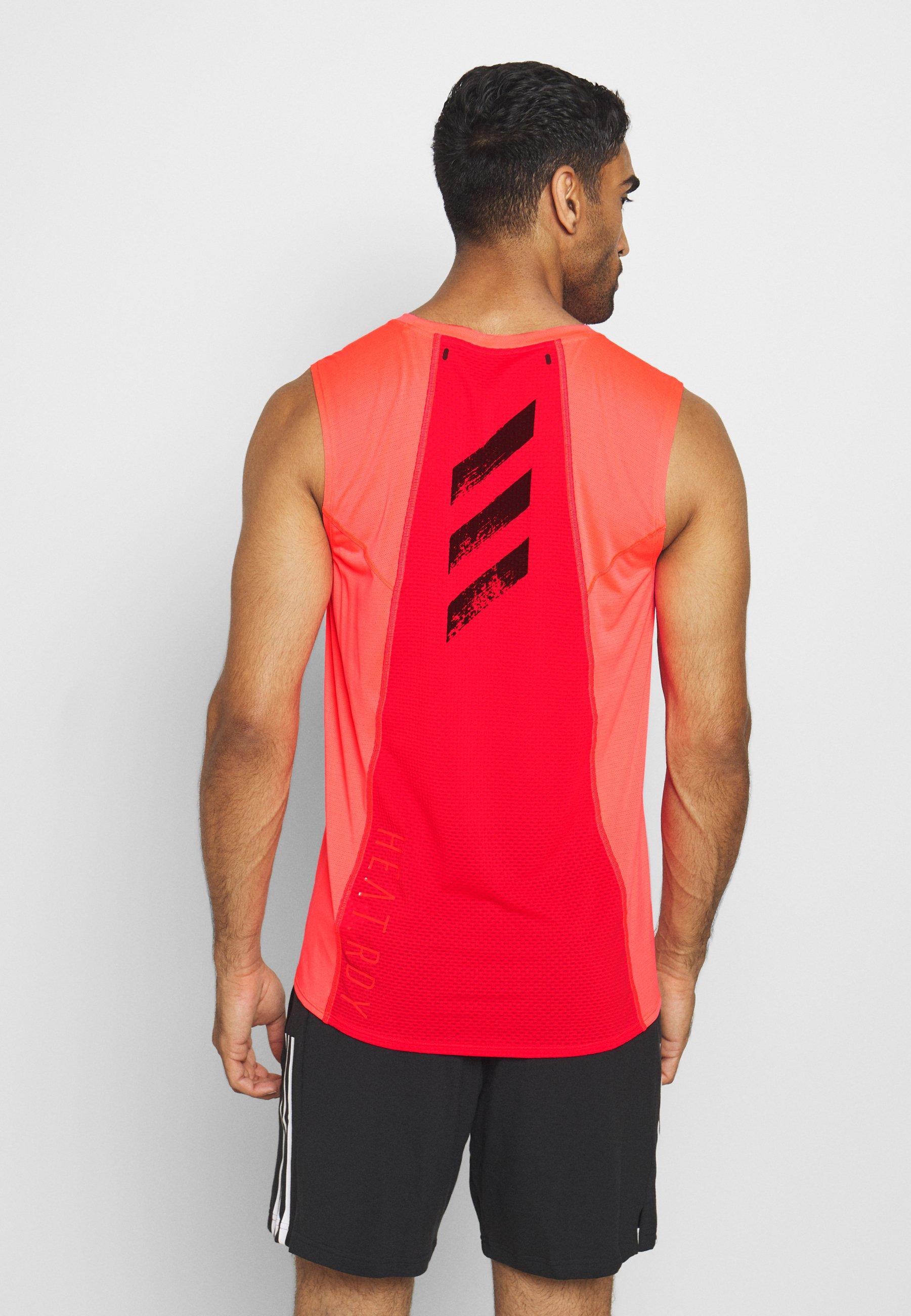 Barato Ropa de hombre adidas Performance ADIZERO HEAT.RDY SPORTS RUNNING SINGLET TANK Camiseta de deporte sigpnk 29QoaH