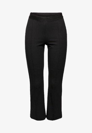 REGULAR FIT - Trousers - black