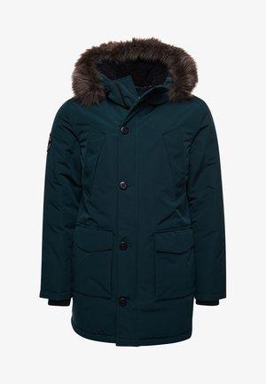 Winter coat - bottle green