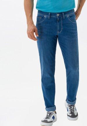 STYLE CADIZ - Straight leg jeans - light blue used